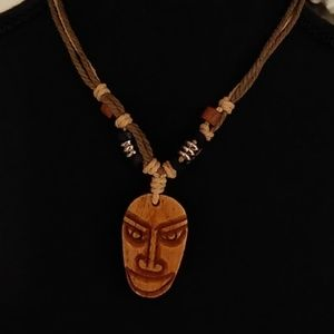 Other - Totem Face Necklace